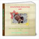 BABY VICTORIA - 8x8 Photo Book (20 pages)