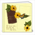 8x8 Secret Garden Album - 8x8 Photo Book (20 pages)
