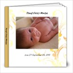 Penny s First 3 Months - 8x8 Photo Book (20 pages)