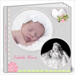 Isabella Maria Newborn Shoot - 12x12 Photo Book (40 pages)