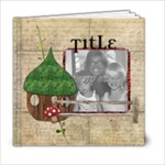 Premade book - 6x6 Photo Book (20 pages)
