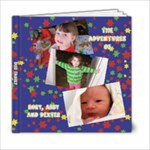 KIDS BOOK - 6x6 Photo Book (20 pages)