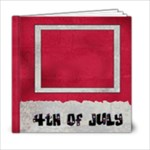GOD BLESS AMERICA - 6x6 - 6x6 Photo Book (20 pages)