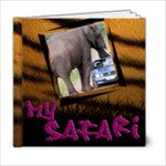 Safari 6x6 - 6x6 Photo Book (20 pages)