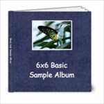 Basic 6x6 Sample Album - 6x6 Photo Book (20 pages)