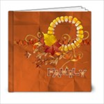 6x6 Autumn, Fall, family album - 6x6 Photo Book (20 pages)