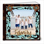 family template book- 8x8 - 8x8 Photo Book (20 pages)