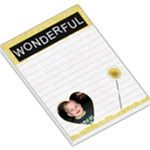 Wonderful Large Memo Pad - Large Memo Pads
