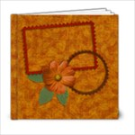 8x8 Autumn Frolic Album - 6x6 Photo Book (20 pages)