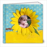 8x8 Summer/Sunflower Album - 8x8 Photo Book (20 pages)