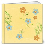 12x12 Shower/Garden/Butterfly Album - 12x12 Photo Book (20 pages)