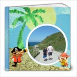 Pirate Pete 8 x 8 By the Sea Book - 8x8 Photo Book (20 pages)