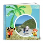 Pirate Pete 6 x 6 By the Sea Book - 6x6 Photo Book (20 pages)