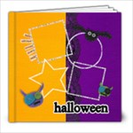 8x8 Halloween Album - 8x8 Photo Book (20 pages)