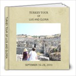 Turkey Vacations - 8x8 Photo Book (39 pages)