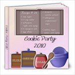Cookie Party - 8x8 Photo Book (20 pages)