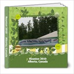 Reunion 2010 Alberta Canada - 8x8 Photo Book (20 pages)