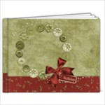 9x7 Holiday Album - 9x7 Photo Book (20 pages)