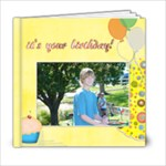 kEITH S 12TH B-DAY - 6x6 Photo Book (20 pages)