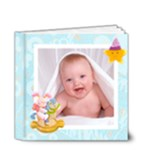 Blanky Bunny baby boys brag book 4 x 4 20 page - 4x4 Deluxe Photo Book (20 pages)