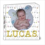 Lucas - 6x6 Photo Book (20 pages)