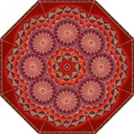 mandala umbrella - Folding Umbrella