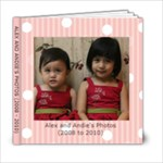Alex and Andie 6x6 PB - 6x6 Photo Book (20 pages)
