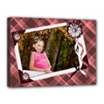 burgandy 16x12 template canvas - Canvas 16  x 12  (Stretched)