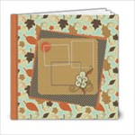 Autumn Afternoon Book 6x6 20 page - 6x6 Photo Book (20 pages)
