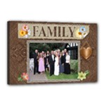Family 18x12 Stretched Canvas - Canvas 18  x 12  (Stretched)
