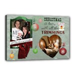 A Christmas To Remember 18x12 Stretched Canvas - Canvas 18  x 12  (Stretched)