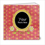 ORANGEBERRY 6X6 - 6x6 Photo Book (20 pages)