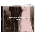 INSTENESS AND GUNDERSON FAMILY - 9x7 Photo Book (20 pages)