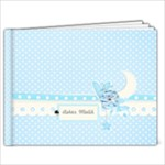 9x7 (20 pages)- template Precious babyboy - 9x7 Photo Book (20 pages)