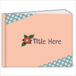 9 x 7 (20 pages) -template- Flower Girl - 9x7 Photo Book (20 pages)
