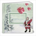 Here Comes Santa 8x8 Photo Book (20pages) - 8x8 Photo Book (20 pages)