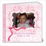 Mikelle s First Birthday - 8x8 Photo Book (20 pages)