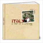 my italian trip - 8x8 Photo Book (39 pages)