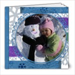Snowdays 30 page 8X8 album - 8x8 Photo Book (30 pages)