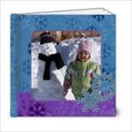Snowflakes 6x6 album - 6x6 Photo Book (20 pages)