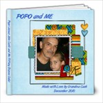 Popo and Me (Tiffany) - 8x8 Photo Book (20 pages)