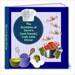 Dev s Crab Cake Dinner - 8x8 Photo Book (20 pages)