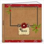 Holiday Traditions 12x12 Photo Book - 12x12 Photo Book (20 pages)