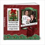 Happy Family Christmas 6x6 Photo Book - 6x6 Photo Book (20 pages)