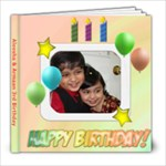 3rd birthday - 8x8 Photo Book (20 pages)