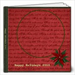 Holly Jolly 12x12 Photo Book - 12x12 Photo Book (20 pages)