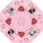 Lotsa Hearts Folding Umbrella