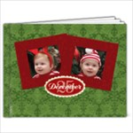 Merry Christmas 7x5 Custom Cover Photobook - 7x5 Photo Book (20 pages)
