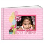 7x5 - Birthday Brag Book Template - 7x5 Photo Book (20 pages)
