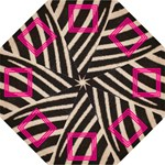 Zebra and pink - UMBRELLA - Folding Umbrella